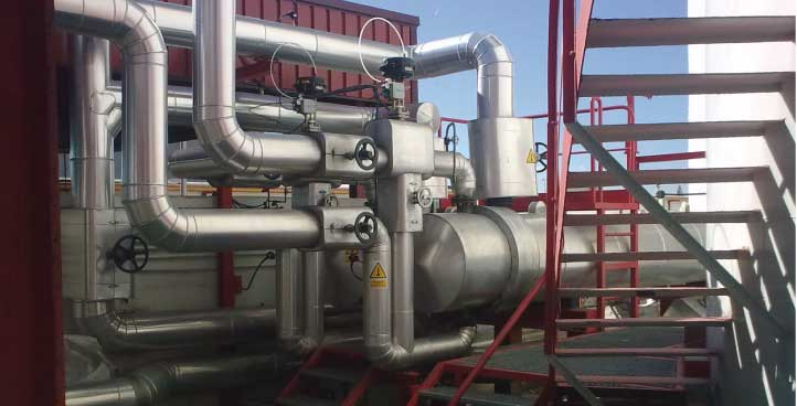THERMAL OIL INSTALLATIONS