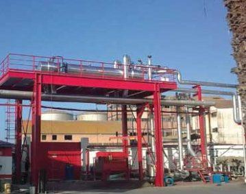 Instalación aceite térmico en Palma de Mallorca de IMB