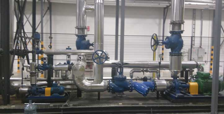 SUPER-HEATED WATER INSTALLATIONS