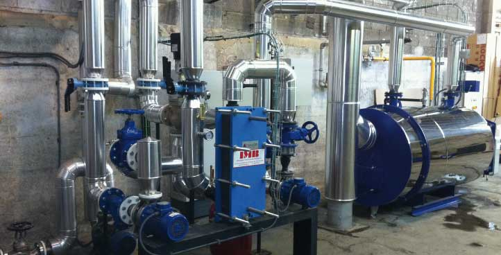 General fluid installations