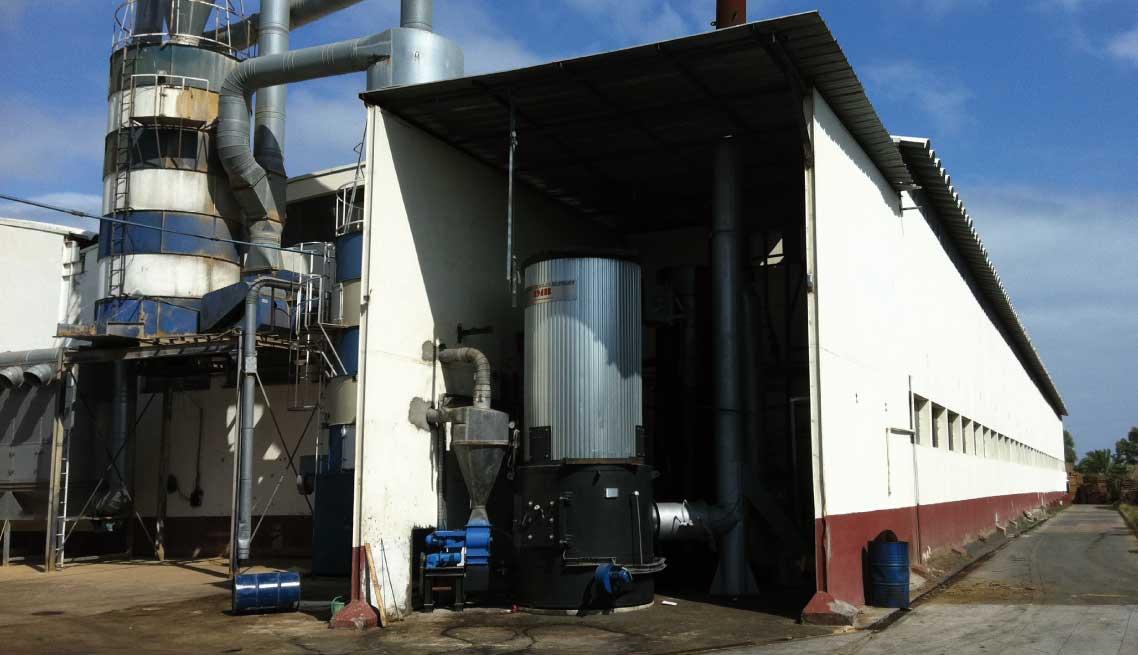 Caldera-biomasa IMB