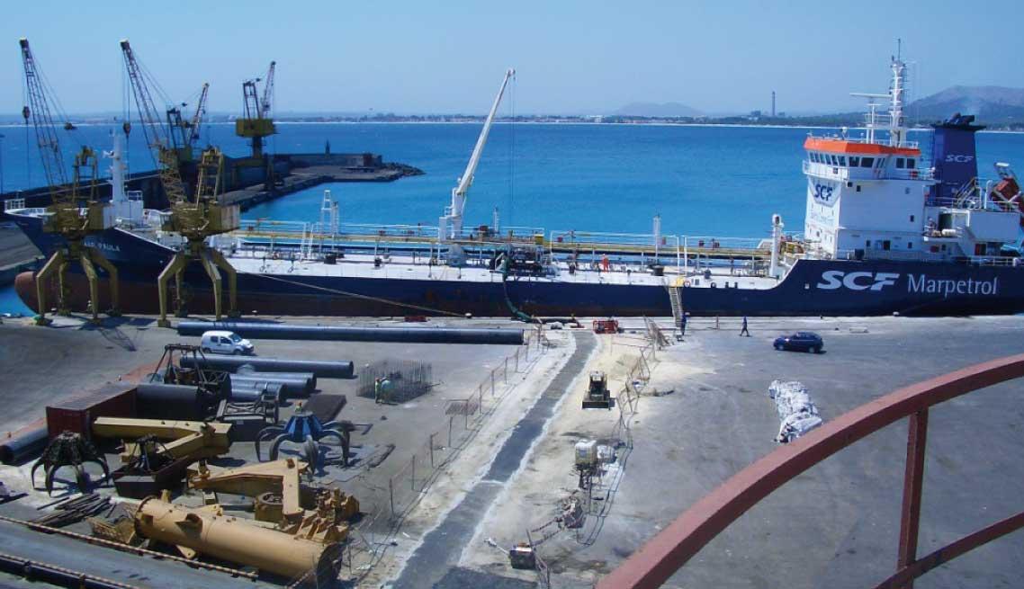 Linea-descarga-buque