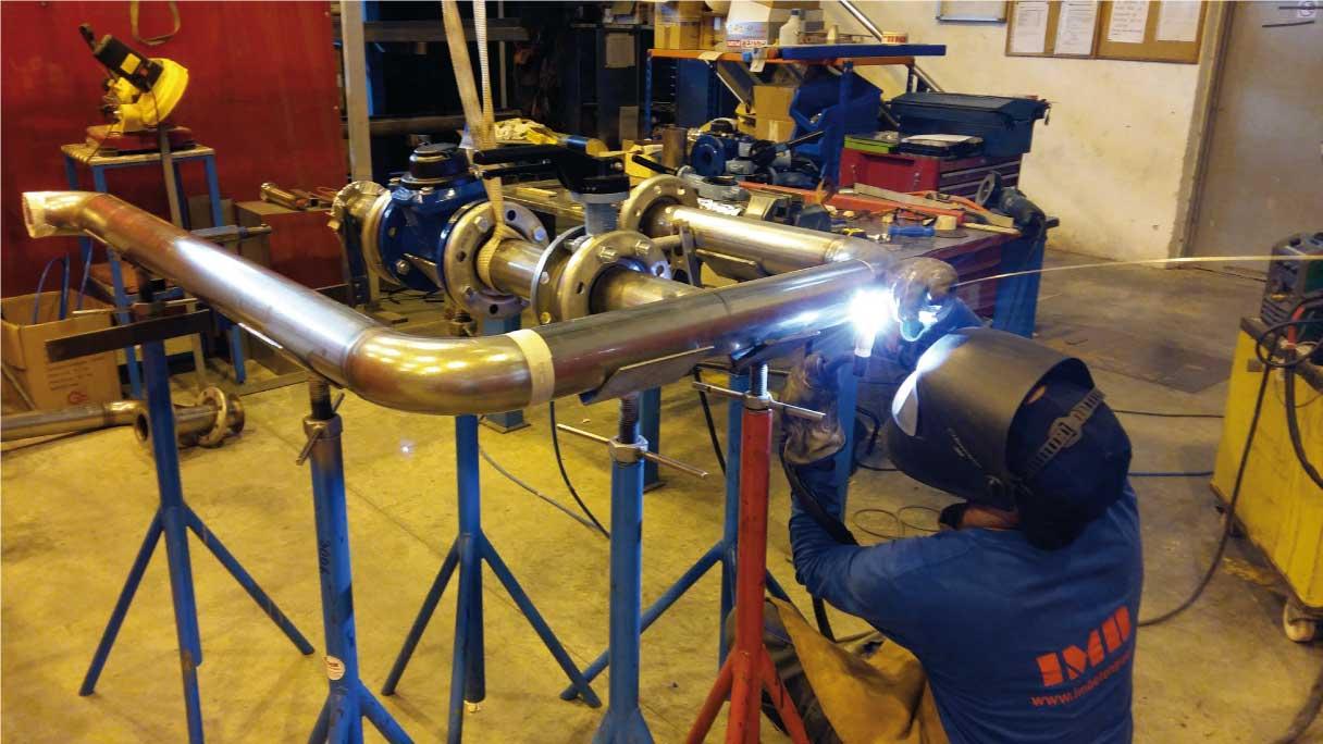 Prefabricacion equipos